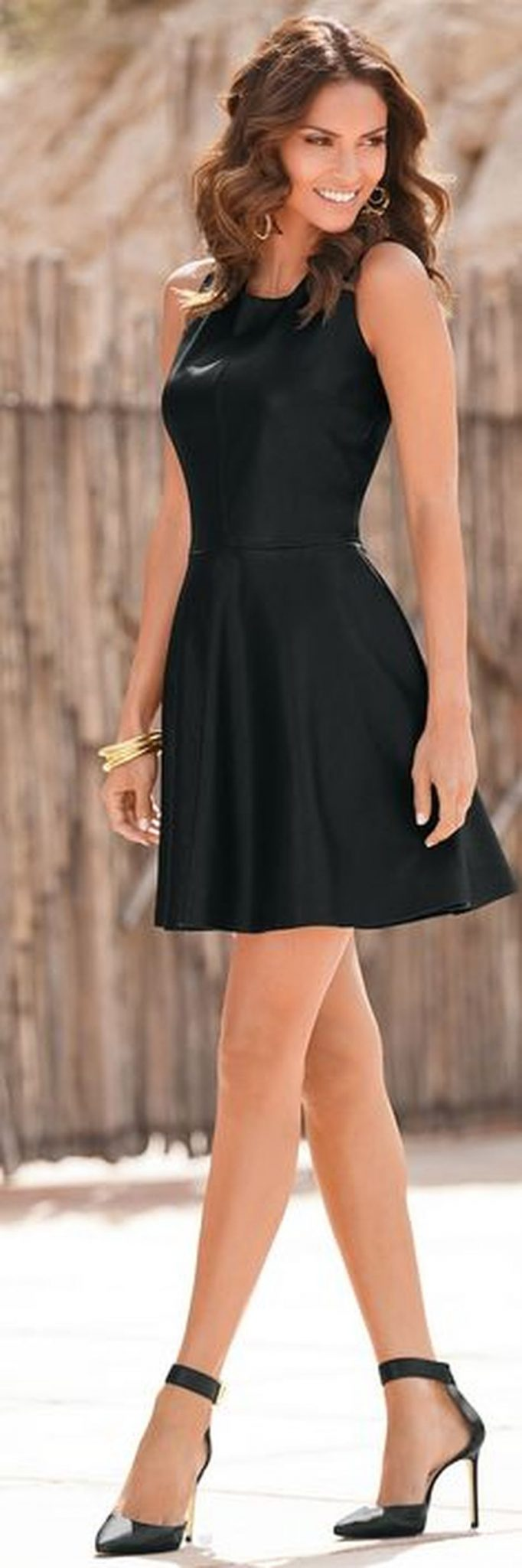 Gorgeous elegance black dress outfits 19