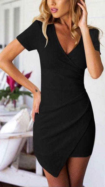 Gorgeous elegance black dress outfits 26