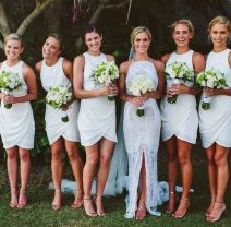 Gorgeous short bridesmaid dresses design ideas 12