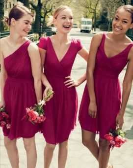 Gorgeous short bridesmaid dresses design ideas 3