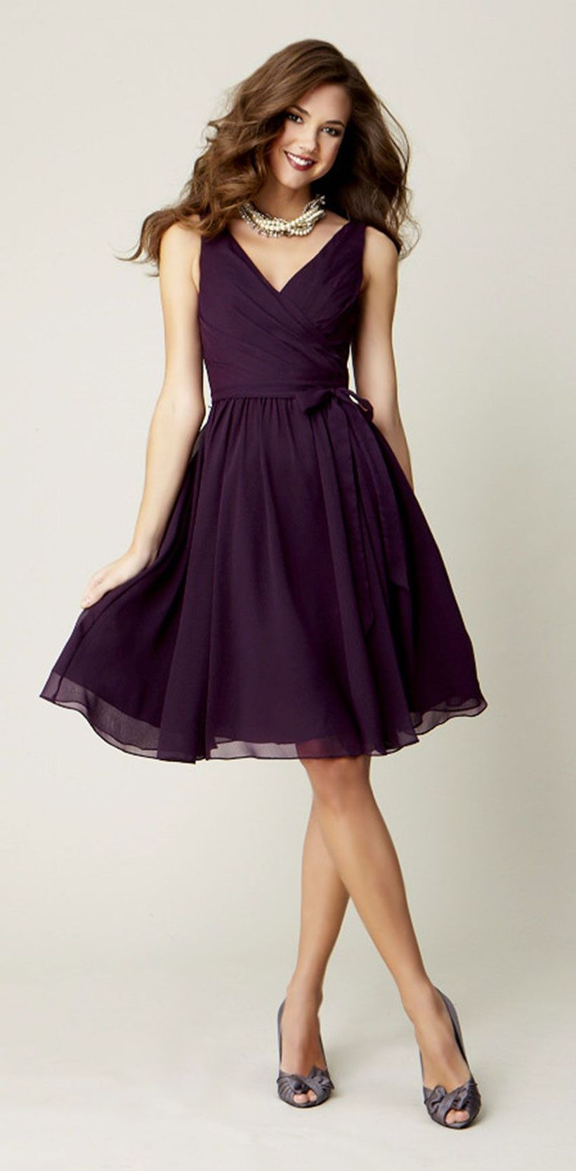 Gorgeous short bridesmaid dresses design ideas 32