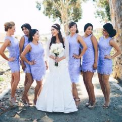 Gorgeous short bridesmaid dresses design ideas 38