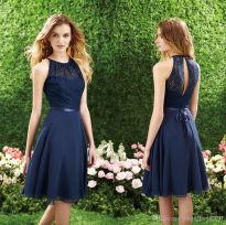 Gorgeous short bridesmaid dresses design ideas 53