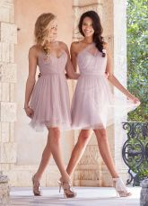Gorgeous short bridesmaid dresses design ideas 54