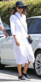 Gorgeous white shirtdresses for summer and spring outfits 11