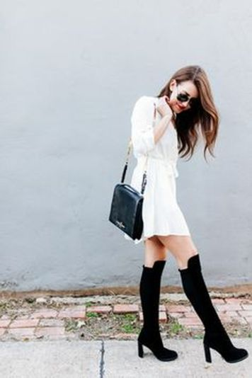 Gorgeous white shirtdresses for summer and spring outfits 38