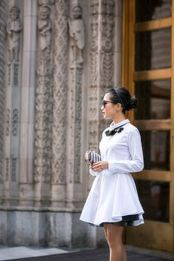 Gorgeous white shirtdresses for summer and spring outfits 42
