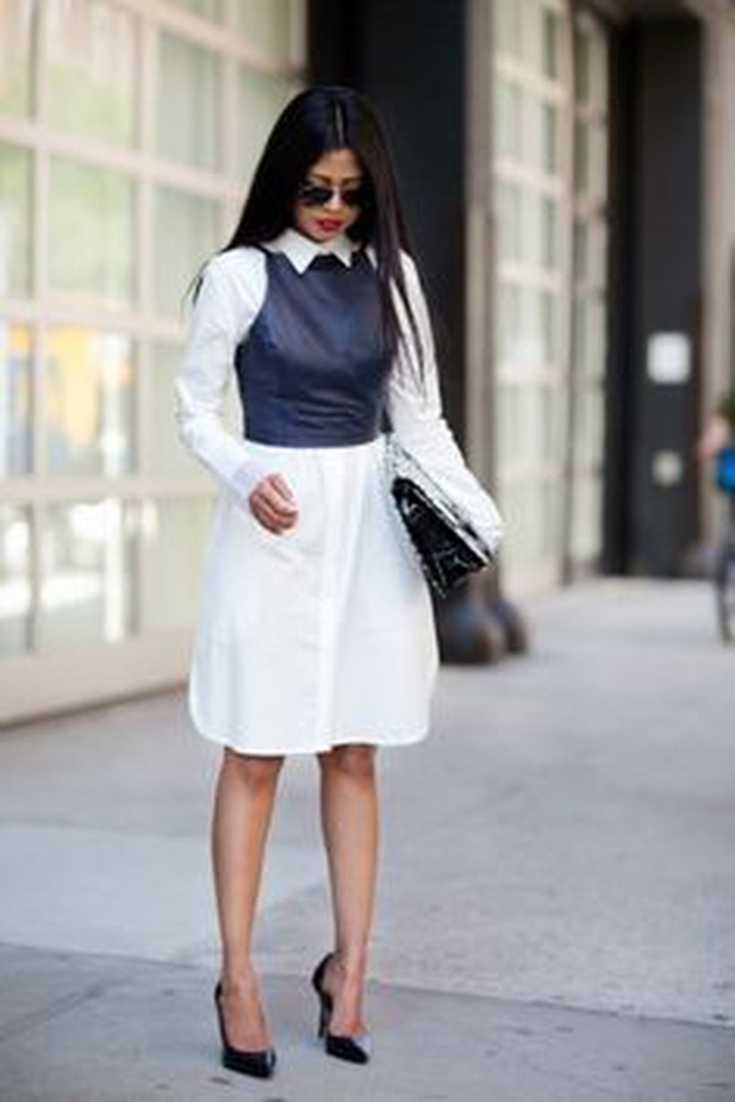 Gorgeous white shirtdresses for summer and spring outfits 57