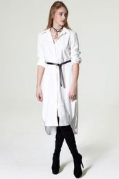 Gorgeous white shirtdresses for summer and spring outfits 60