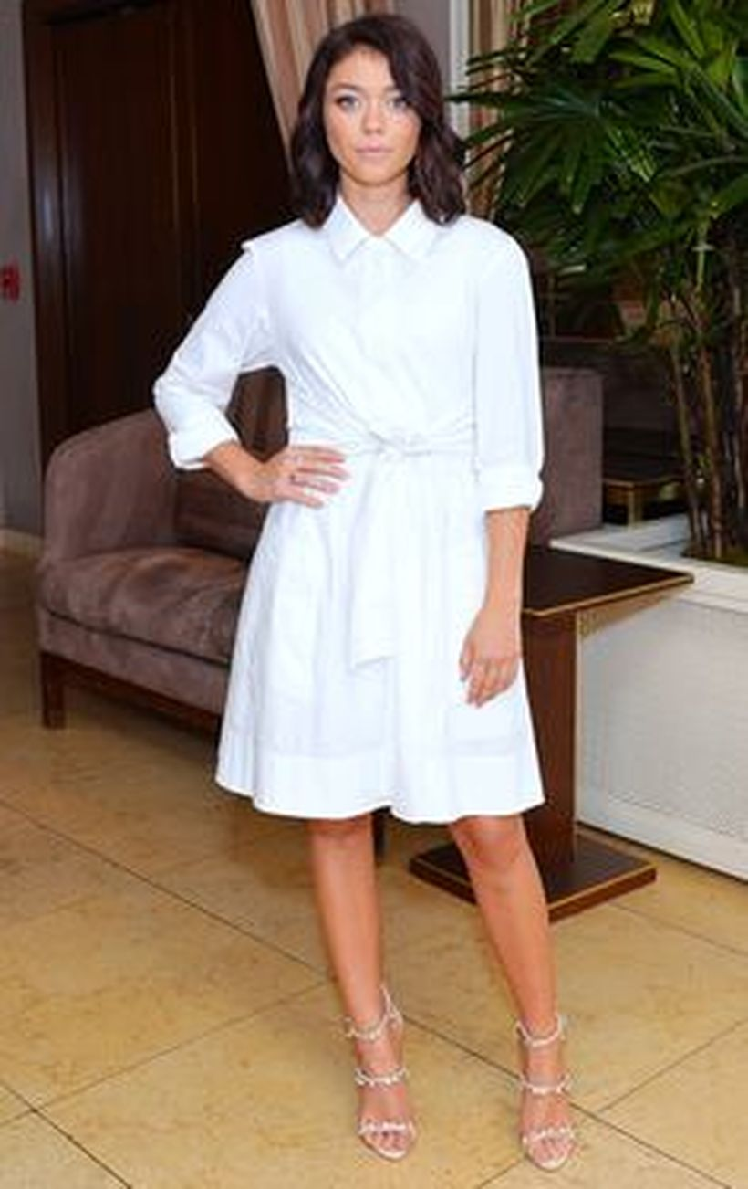 Gorgeous white shirtdresses for summer and spring outfits 63