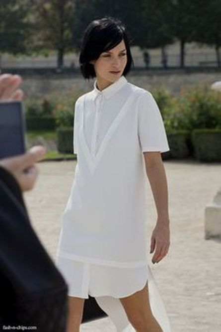 Gorgeous white shirtdresses for summer and spring outfits 71