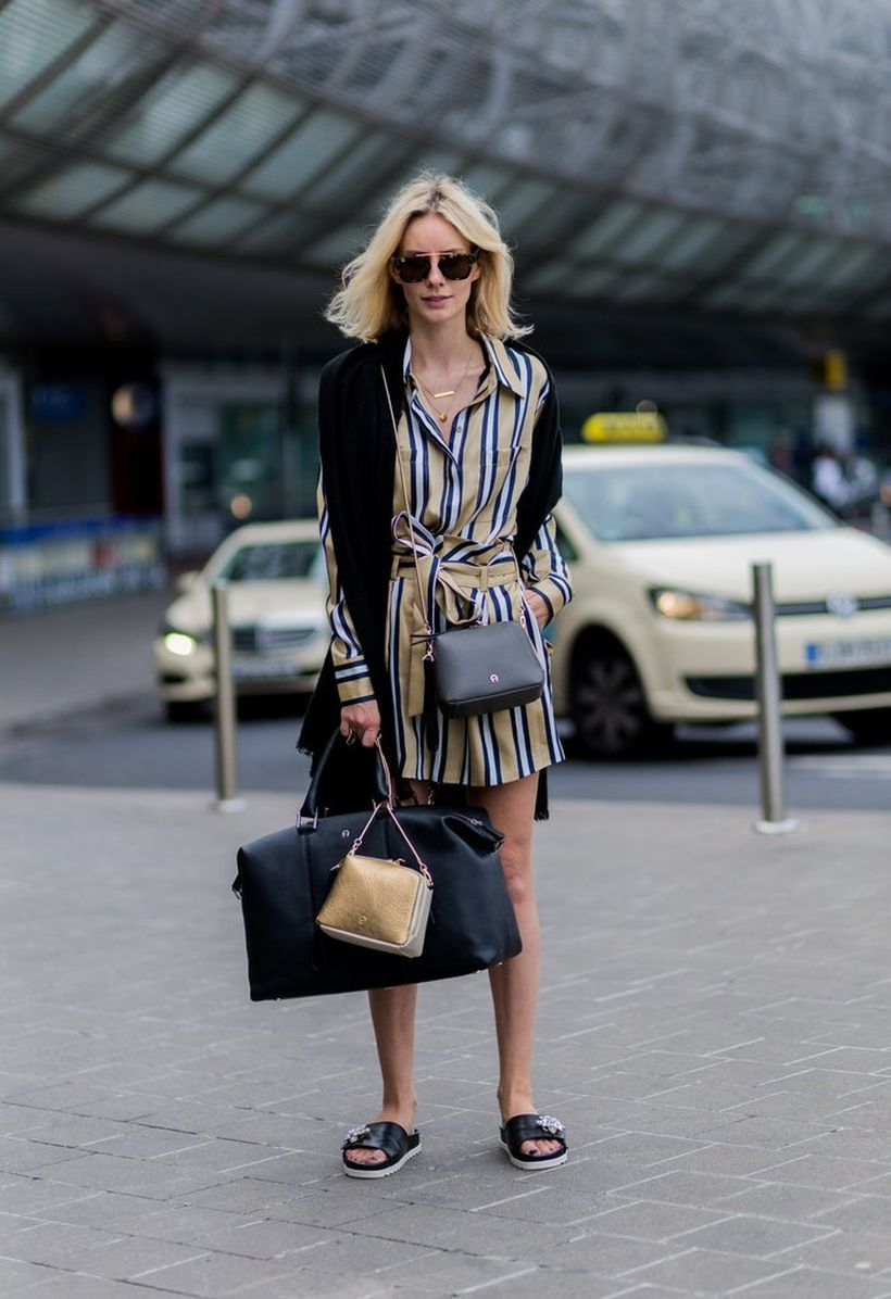 Marvelous striped shirtdresses outfits ideas 11