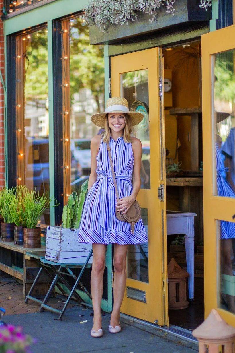 Marvelous striped shirtdresses outfits ideas 15