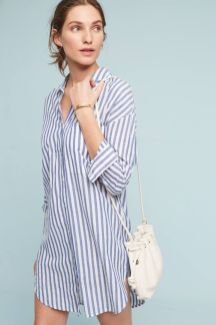 Marvelous striped shirtdresses outfits ideas 21