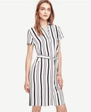 Marvelous striped shirtdresses outfits ideas 4