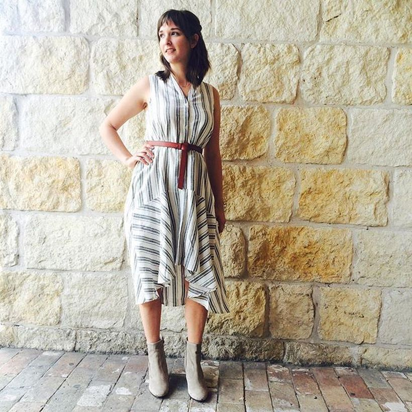 Marvelous striped shirtdresses outfits ideas 40