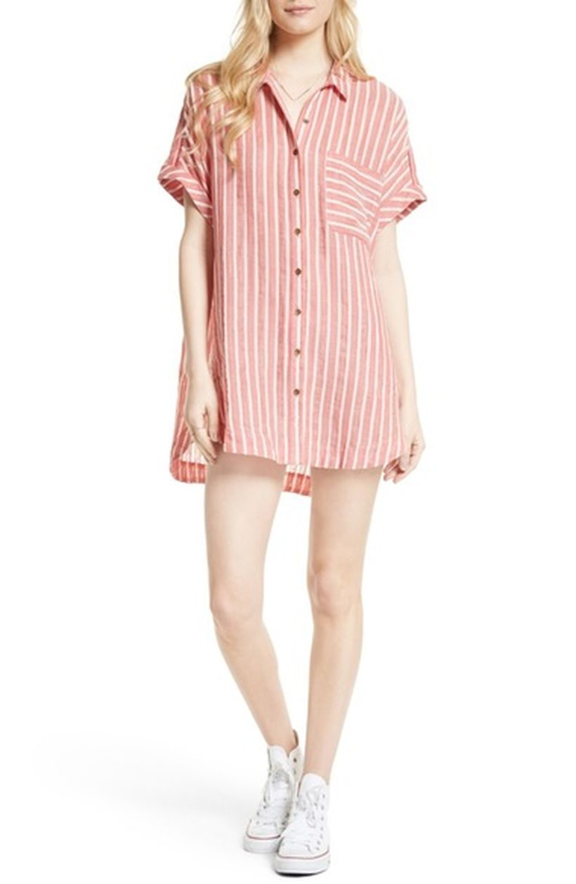 Marvelous striped shirtdresses outfits ideas 41