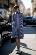 Marvelous striped shirtdresses outfits ideas 42