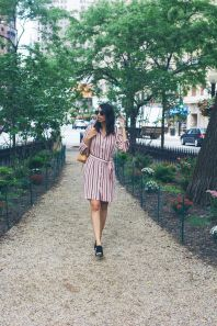Marvelous striped shirtdresses outfits ideas 47