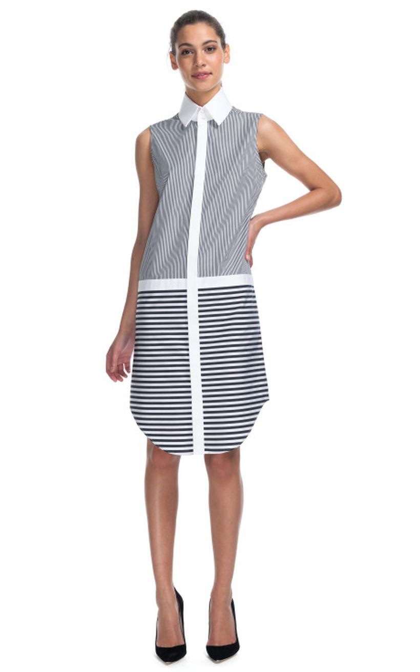 Marvelous striped shirtdresses outfits ideas 69