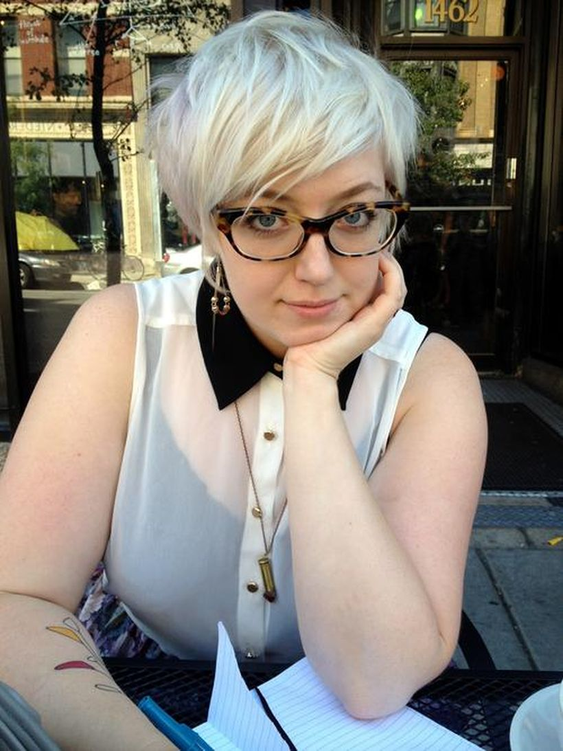 Perfect short pixie haircut hairstyle for plus size 5