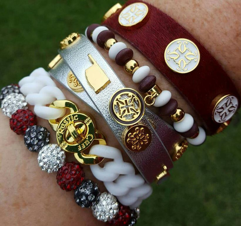 Stacked arm candies jewelry ideas 109