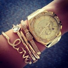 Stacked arm candies jewelry ideas 12