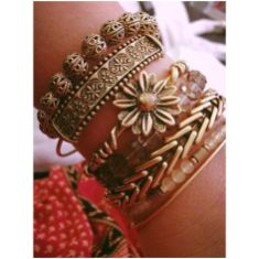 Stacked arm candies jewelry ideas 122