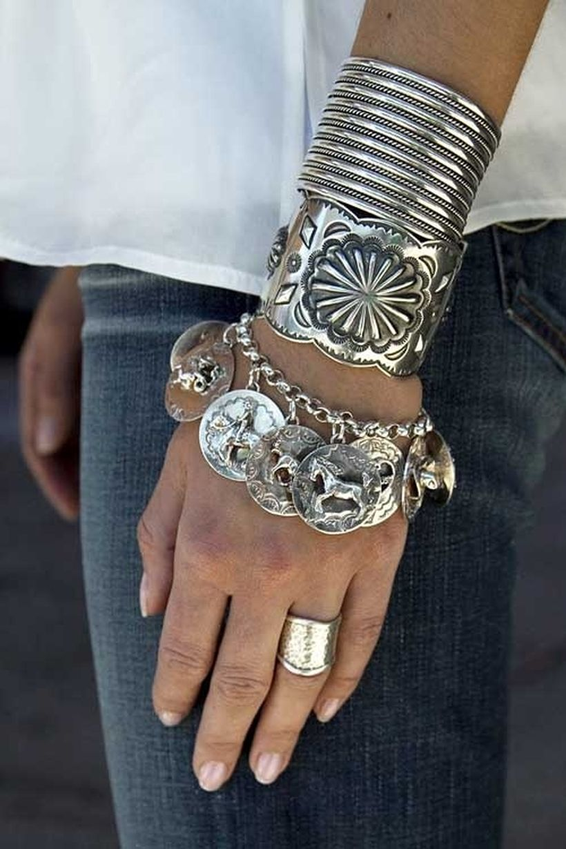 Stacked arm candies jewelry ideas 124