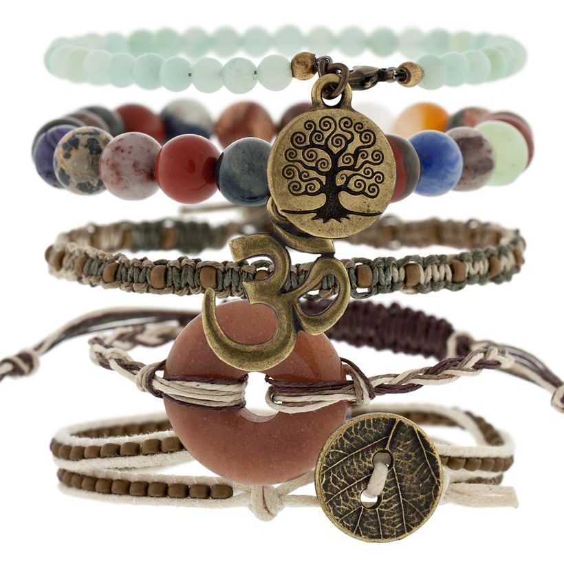 Stacked arm candies jewelry ideas 20