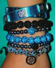 Stacked arm candies jewelry ideas 24