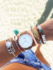 Stacked arm candies jewelry ideas 25