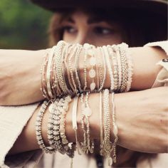 Stacked arm candies jewelry ideas 40