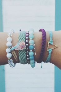 Stacked arm candies jewelry ideas 50