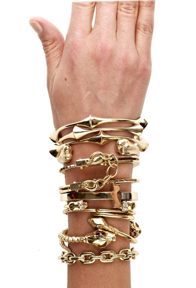 Stacked arm candies jewelry ideas 6