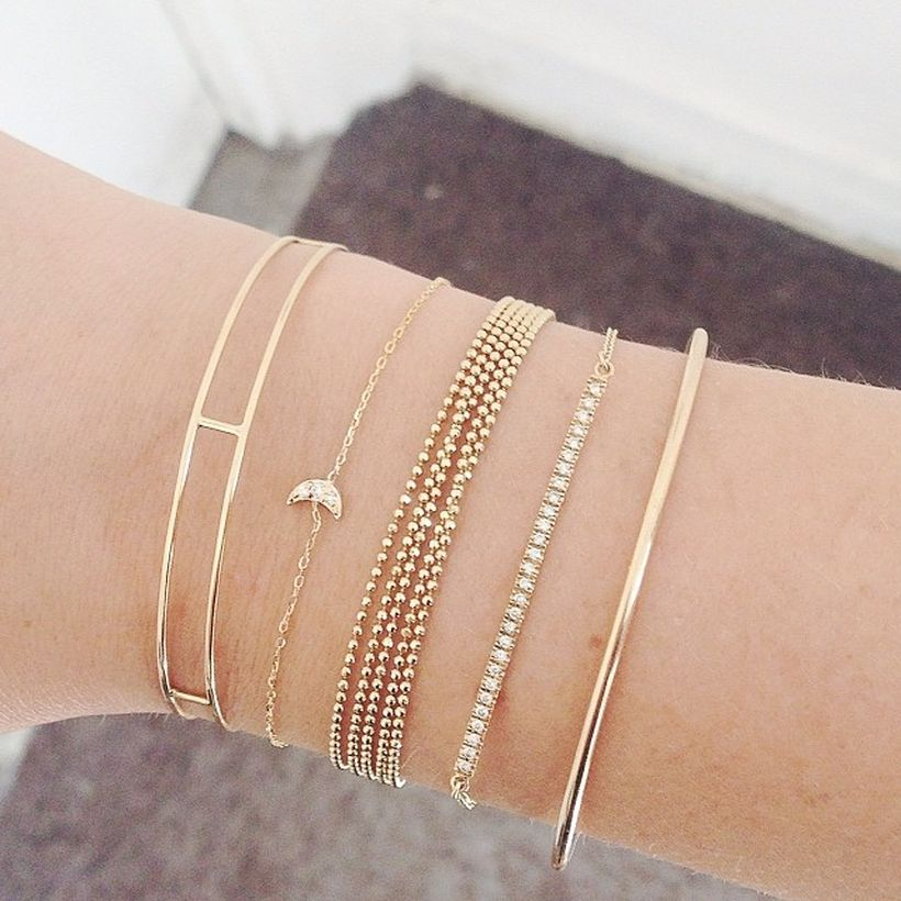 Stacked arm candies jewelry ideas 68