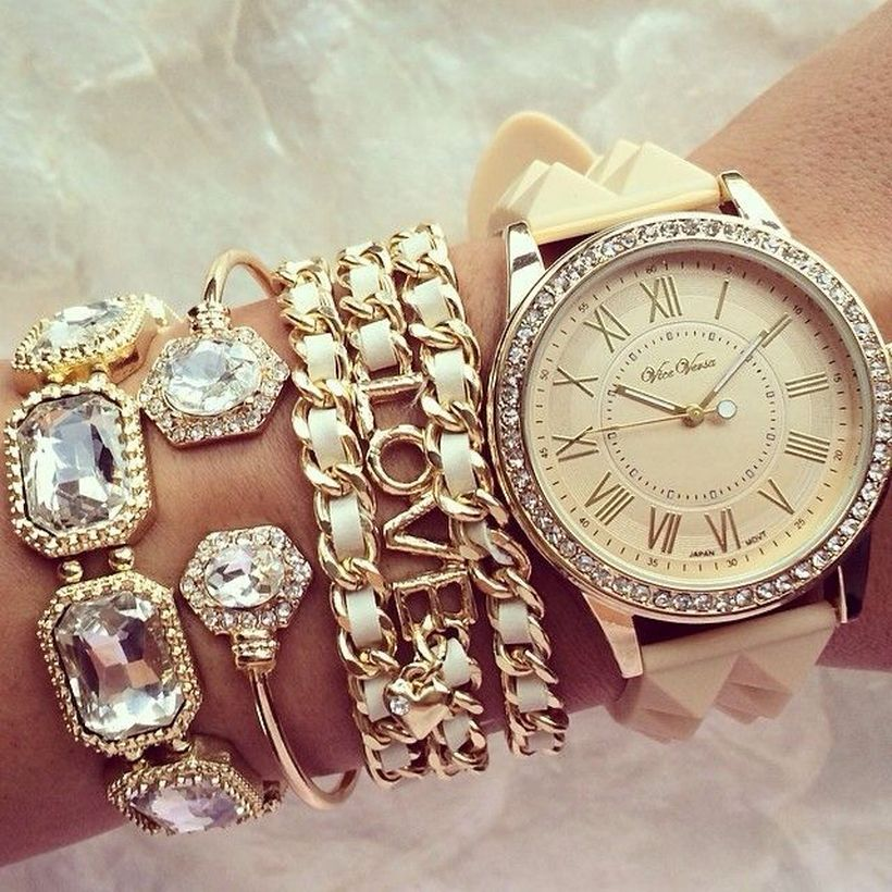 Stacked arm candies jewelry ideas 7