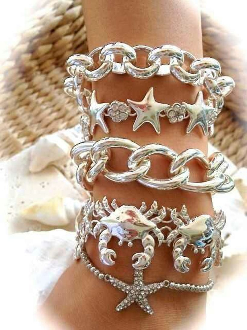 Stacked arm candies jewelry ideas 80
