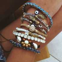 Stacked arm candies jewelry ideas 84