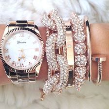 Stacked arm candies jewelry ideas 89