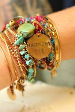Stacked arm candies jewelry ideas 90