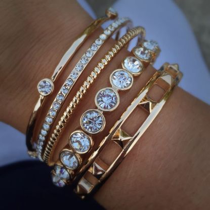 Stacked arm candies jewelry ideas 94