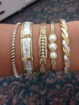 Stacked arm candies jewelry ideas 97