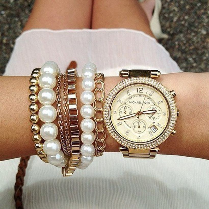 Stacked arm candies jewelry ideas 98