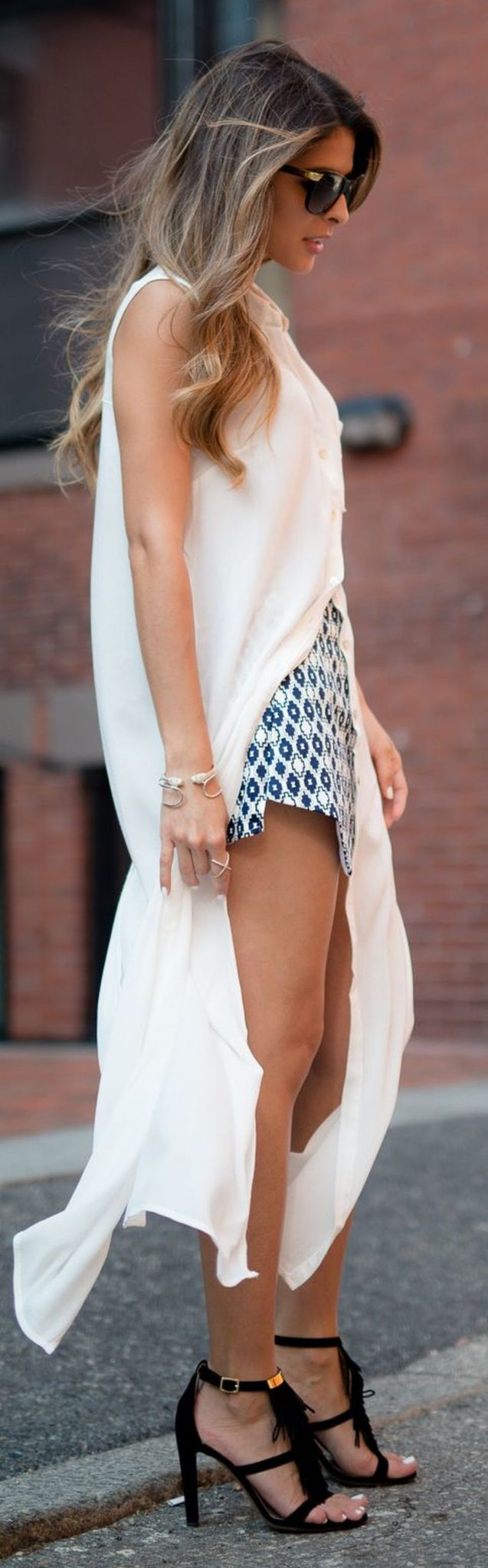 Stunning white shirtdresses outfits 17
