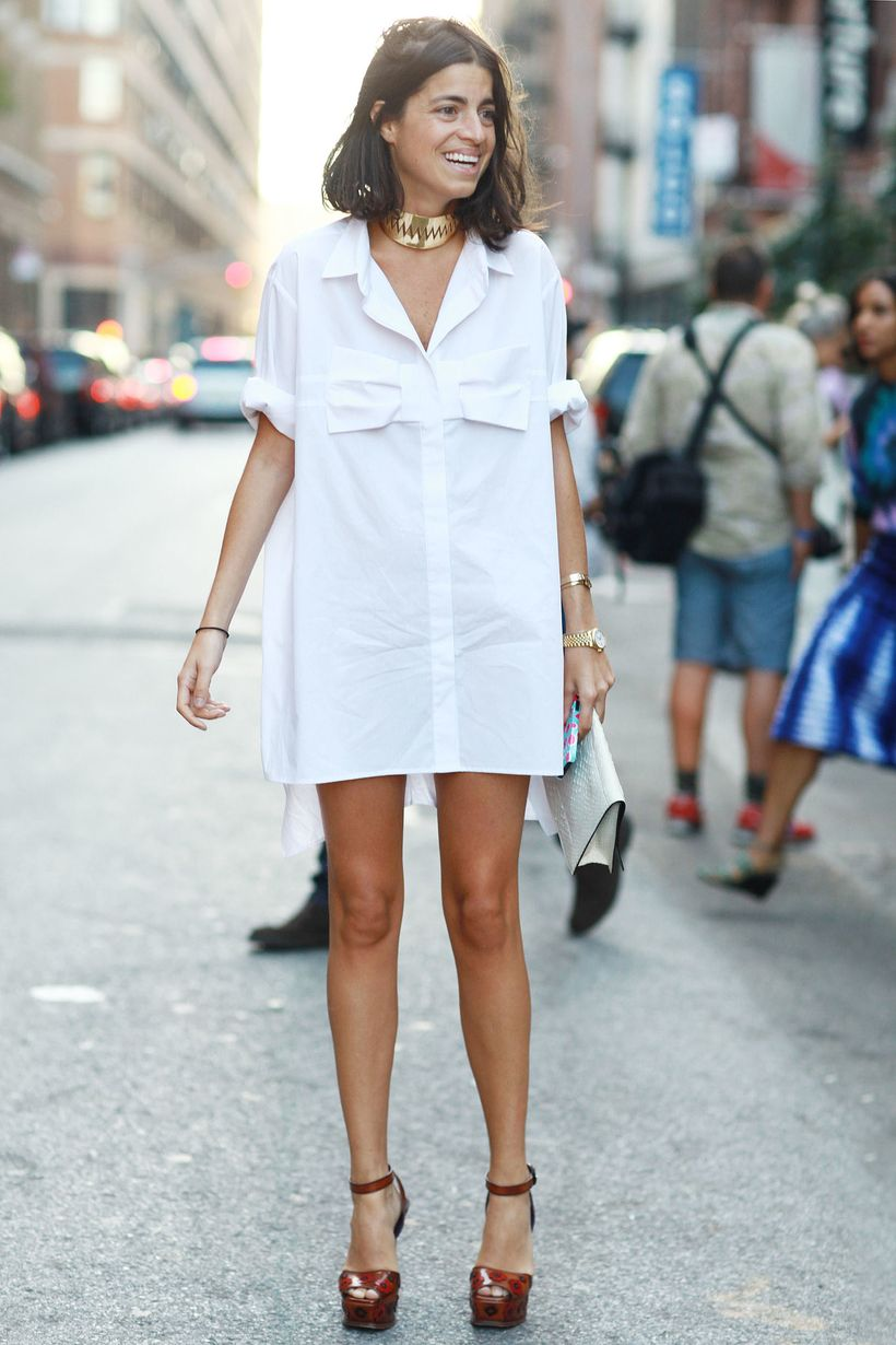 Stunning white shirtdresses outfits 21