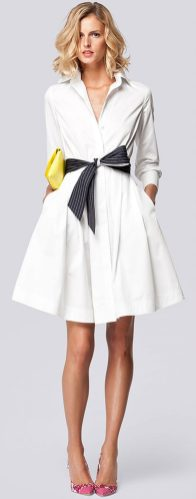 Stunning white shirtdresses outfits 6