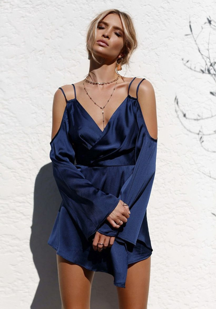 Stylish open shoulder dress outfits 2017 1