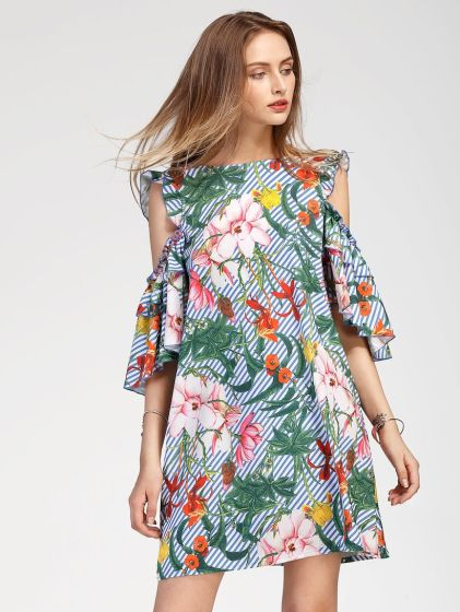 Stylish open shoulder dress outfits 2017 14