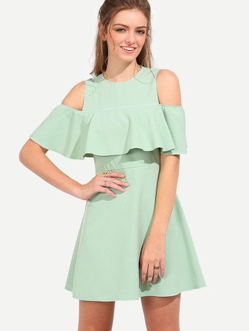 Stylish open shoulder dress outfits 2017 25